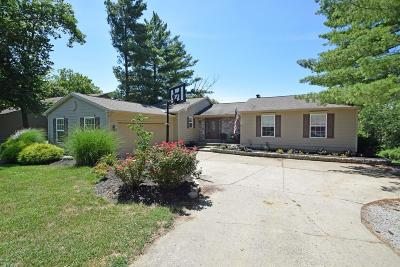 Lawrenceburg, Aurora, Bright, Brookville, West Harrison, Milan, Moores Hill, Sunman, Dillsboro Single Family Home For Sale: 1433 Golf View Court