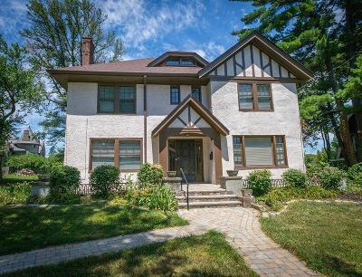 Cincinnati Single Family Home For Sale: 752 Clinton Springs Avenue