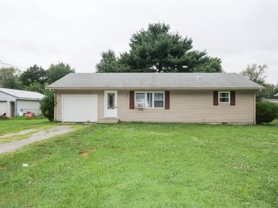 Adams County, Brown County, Clinton County, Highland County Single Family Home For Sale: 5464 Oak Grove Avenue