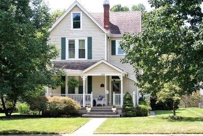 Single Family Home For Sale: 349 E Sharon Road