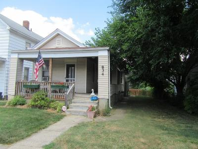 Hamilton Single Family Home For Sale: 834 Franklin Street
