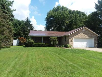 Adams County, Brown County, Clinton County, Highland County Single Family Home For Sale: 26 Char Del