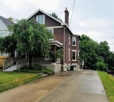 Cincinnati Single Family Home For Sale: 4261 W Eighth Street
