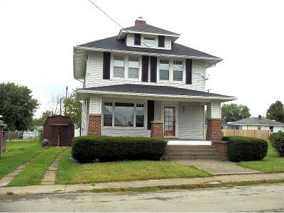 West Union OH Single Family Home For Sale: $69,900