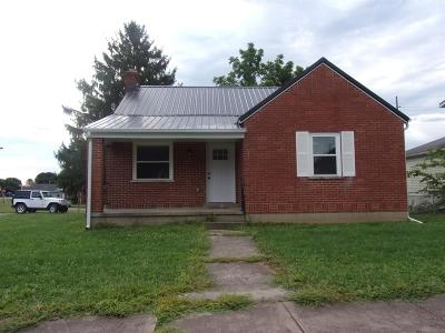 Seaman OH Single Family Home For Sale: $74,900