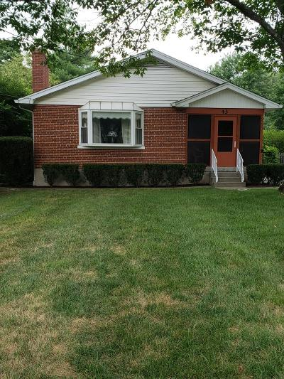 Wyoming Single Family Home For Sale: 43 Springfield Pike
