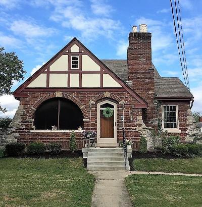 Cheviot Single Family Home For Sale: 3448 Alta Vista Avenue