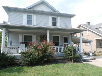 Manchester OH Single Family Home For Sale: $109,900