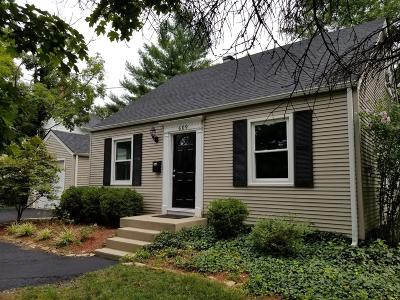 Single Family Home For Sale: 609 Wooster Pike