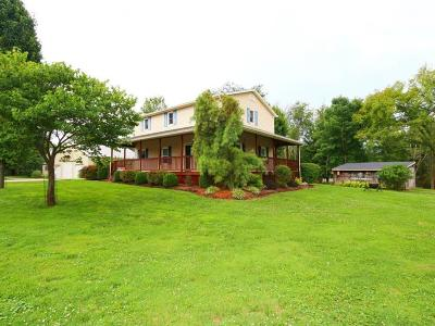 Lawrenceburg, Aurora, Bright, Brookville, West Harrison, Milan, Moores Hill, Sunman, Dillsboro Single Family Home For Sale: 21526 Georgetown Road