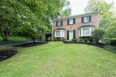 Cincinnati Single Family Home For Sale: 1909 Gregory Lane
