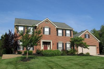 Single Family Home For Sale: 9719 Amberwood Court