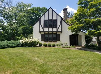 Cincinnati Single Family Home For Sale: 1351 Herschel Avenue