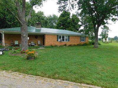 Single Family Home For Sale: 7176 St. Rt. 123