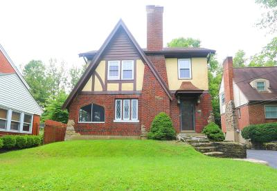 Norwood Single Family Home For Sale: 2517 Indian Mound Avenue
