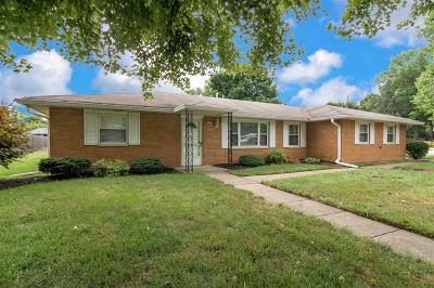 Single Family Home For Sale: 5382 Tallawanda Drive