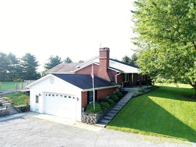 Highland County Single Family Home For Sale: 6730 St Rt 134