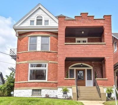 Cincinnati Single Family Home For Sale: 3339 Woodburn Avenue