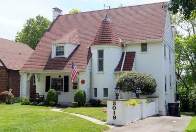 Cincinnati Single Family Home For Sale: 3019 Veazey Avenue