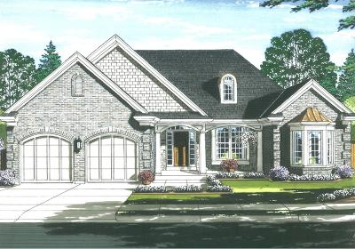 Single Family Home For Sale: 3380 Cooper Road #Lot 1