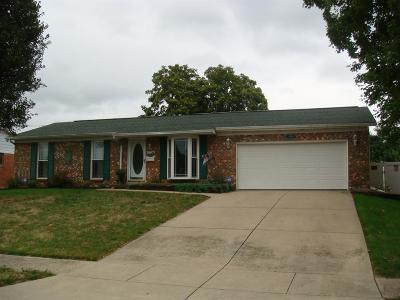 Fairfield Single Family Home For Sale: 4704 Matthew Place