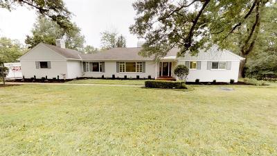 Cincinnati Single Family Home For Sale: 7181 W Aracoma Drive