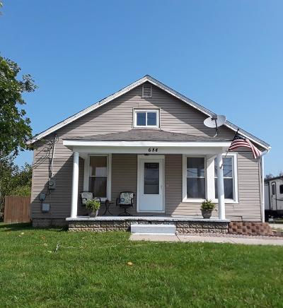 Lawrenceburg Single Family Home For Sale: 684 Bielby Road