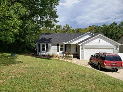 Lawrenceburg Single Family Home For Sale: 290 Ivy Hill Road