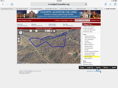 Colerain Twp Residential Lots & Land For Sale: 6328 Blue Rock Road