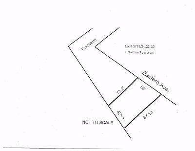 Cincinnati Residential Lots & Land For Sale: 3719 Eastern Avenue