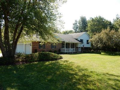 Preble County Single Family Home For Sale: 4096 Maple Grove Road