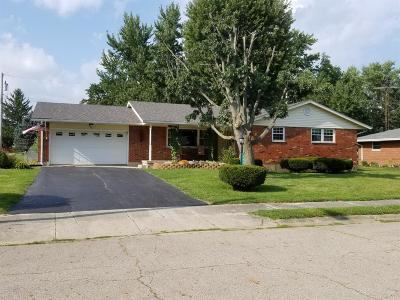 Preble County Single Family Home For Sale: 406 Williams Parkway