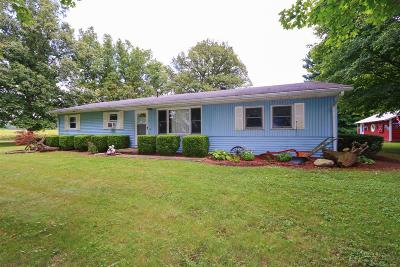 Highland County Single Family Home For Sale: 5750 Bryant Road