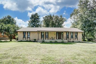 Sharonville Single Family Home For Sale: 6743 Wilma Drive