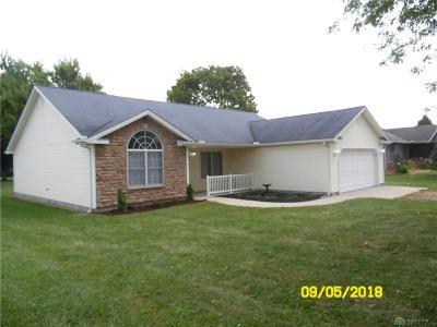 Preble County Single Family Home For Sale: 190 Battle Drive