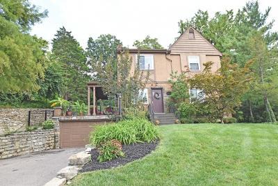 Cincinnati Single Family Home For Sale: 1031 Clifton Hills Avenue