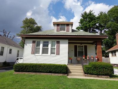 Cheviot Single Family Home For Sale: 3608 Homelawn Avenue