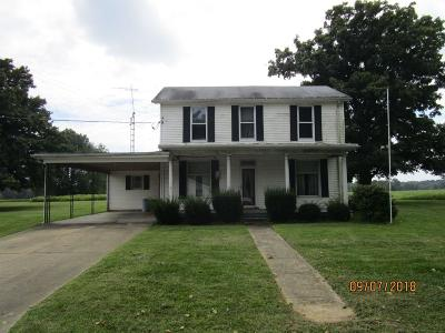 Single Family Home For Sale: 3223 Cherry Fork Road