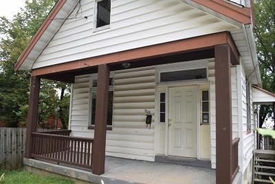Cincinnati OH Single Family Home For Sale: $24,000