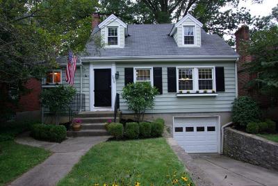 Cincinnati Single Family Home For Sale: 3415 Oak Lane