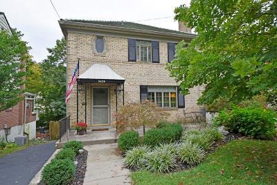 Cincinnati Single Family Home For Sale: 3429 Custer Street