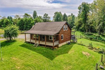 Highland County Single Family Home For Sale: 8770 W Berrysville Road