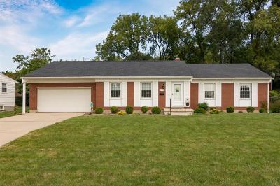 Hamilton Single Family Home For Sale: 804 Sanders Drive
