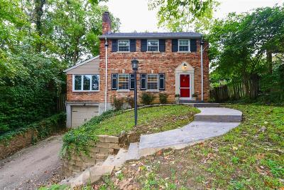 Cincinnati Single Family Home For Sale: 3527 Heekin Avenue