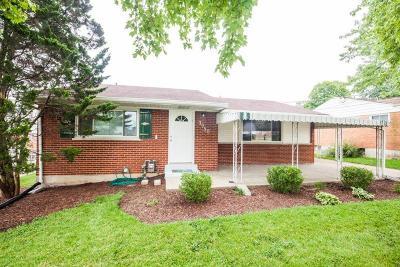 Sharonville Single Family Home For Sale: 3950 Creek Road