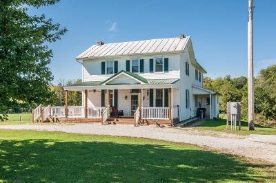 Preble County Single Family Home For Sale: 3601 Ozias Road