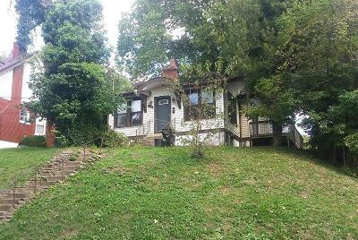 Cincinnati OH Single Family Home For Sale: $29,000
