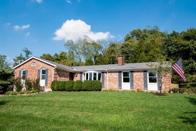 Cincinnati Single Family Home For Sale: 1019 Grandin Ridge Drive