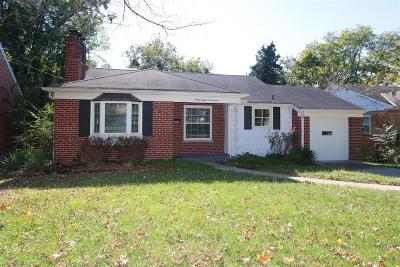 Sharonville Single Family Home For Sale: 3817 Malaer Drive