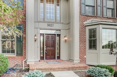 Single Family Home For Sale: 3627 Carpenters Green Lane
